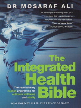 The Integrated Health Bible Cover - Doctor Mosaraf Ali