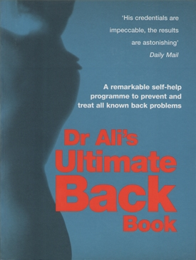 Dr. Ali's Ultimate Back Book Cover - Doctor Mosaraf Ali