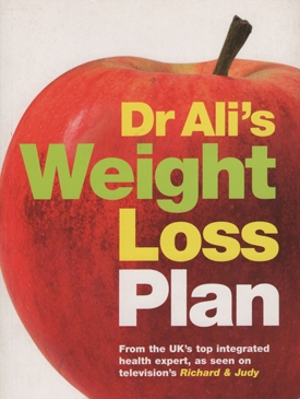 Dr Ali's Weight Loss Plan Book Cover - Doctor Mosaraf Ali