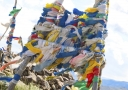 Buddhist prayer flags on mountain pass - Doctor Mosaraf Ali